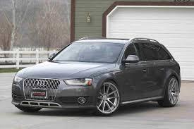 audi wagon black silver audi a4 black rims cars9 info