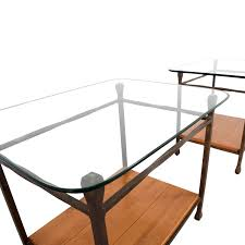 Ethan Allen Tables by 61 Off Ethan Allen Ethan Allen Wrought Iron End Tables Tables