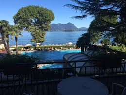 view over pool and lake maggiore grand hotel dino baveno lake