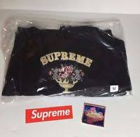 supreme centerpiece hooded sweatshirt fw17 black ebay