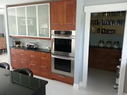 small kitchen decoration with solid cherry wood ikea kitchen
