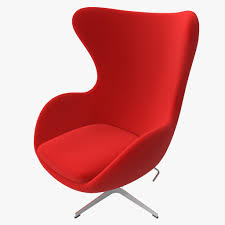 magnificent design egg chairs ideas featuring red color egg chair