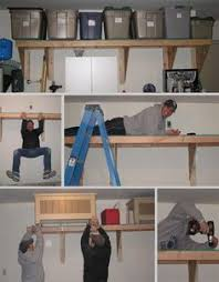 Wood Shelving Designs Garage by Garage Shelf Plans Easy Economical Garage Shelving From 2x4s Free