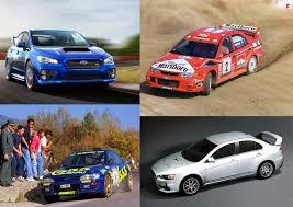 mitsubishi evo hatchback speedmonkey the legends are back the new subaru wrx sti and