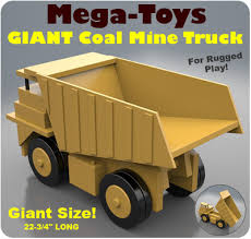 mega toys giant coal mine truck wooden toys pinterest coal