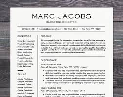 creative resume templates for mac resume template cv template for word mac or pc professional