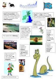 scotland worksheet free esl printable worksheets made by teachers