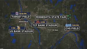 State Fair Mn Map Thursday Events Could Create Twin Cities Traffic Nightmare Youtube