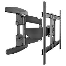 Wall Mount Tv Without Wires Amazon Com Mount Factory Full Motion Articulating Wall Mount For