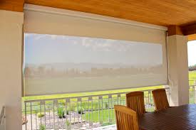 Shades For Patio Covers Decoration Ideas Elegant White Sun Screens Patio Cover With Brown