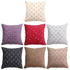 43 cm square pillowcase plaids sofa chair bed pillows brocade 43 cm square pillowcase plaids sofa chair bed pillows brocade cushion cover case for home decor honki mode