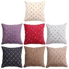 Brocade Home Decor by 43 Cm Square Pillowcase Plaids Sofa Chair Bed Pillows Brocade