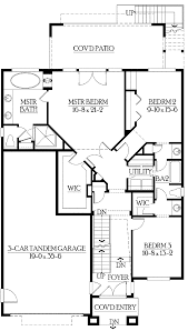 3 Bedroom House Plans With Basement 52 Full Floor Plans With Basements Basement Floor Plans On Home
