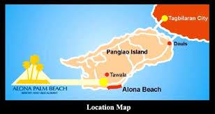 alona resort map alona palm resort bohol philippines free n easy travel