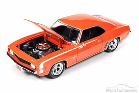 model camaro 1969 custom chevrolet camaro ss orange auto aw24004 1