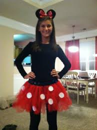 Cheap Halloween Costumes Girls 25 Homemade Minnie Mouse Costume Ideas