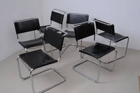 Thonet Vintage Chairs Vintage S33 Dining Chairs By Mart Stam For Thonet Set Of 6 For