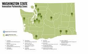 Spokane Washington Map Innovation Partnerships Zones Pathways To Business Growth In