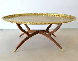 brass round coffee table round brass coffee table with marble top