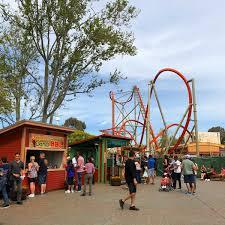 backyard theme park california s great america bay area california amusement park