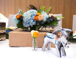 flower arrangement pictures with theme sophisticated safari theme baby shower in nyc baby showers inc