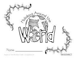 holidays around the world book k 2 tpt