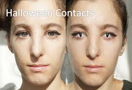 green halloween contacts halloween contact lenses video review before after youtube