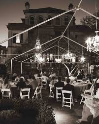 Poles For String Lights by Outdoor Wedding Lighting Ideas From Real Celebrations Martha