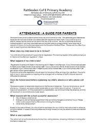 attendance rattlesden church of england primary academy