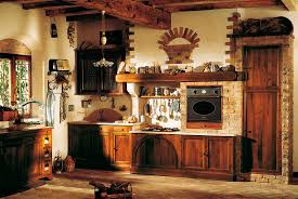 Italian Kitchen Design Ideas by Rustic Italian Kitchen Design Wooden Ceiling Grey Cabinetry Brown