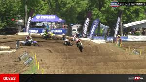 lucas oil pro motocross live timing loretta lynn amateur motocross championship day 4 racertv