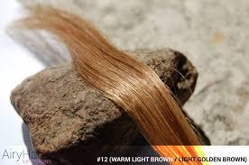 Light Brown Color Complete Hair Extensions Color Chart Color Palette Guide