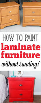 how to paint laminate cabinets without sanding how to paint laminate furniture without sanding crafts and diy