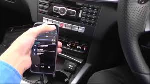 how to bluetooth mercedes pairing phone connect with c e