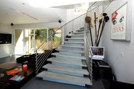 Cement Stairs Design Modern Handrail Designs That Make The Staircase Stand Out