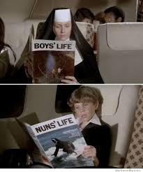Airplane Movie Meme - nun s life weknowmemes