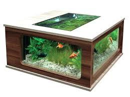 aquarium coffee tables large size of coffee aquarium coffee table