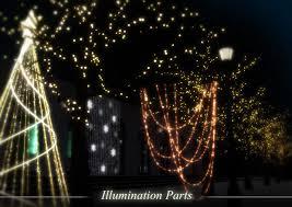mmd christmas lights stage dl series by harukasakurai on deviantart