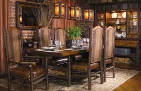 hill country dining room dining room chairs with arms contemporary style home living