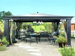 12x12 Patio Gazebo Outdoor Patio Gazebo 12 12 Medium Size Of Gazebo Top Outdoor Patio