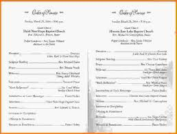 Church Programs For Wedding Church Program Templates Simple Wedding Program Jpeg Letterhead