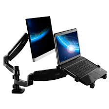 m6h dual monitor mount for 10 u2033 27 u2033 monitor u2013 fleximounts