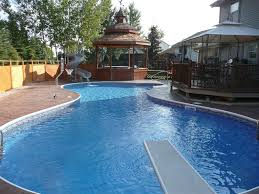Backyard Pools Prices Above Ground Swimming Pool In Backyard Are Cheapest Bamboo