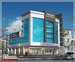 modern 3 storey commercial building design ideas plans pdf small