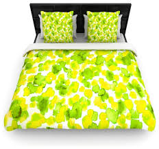 Blue And Yellow Duvet Cover Green And Yellow Duvet Covers Sweetgalas