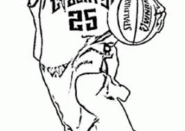 basketball coloring pages nba basketball coloring pages coloring4free com