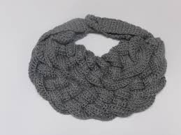 braided scarf fashionable crocheted braided scarf necklace free domestic usps