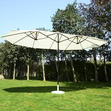 Used Patio Umbrella Outsunny 15 Outdoor Patio Market Sided