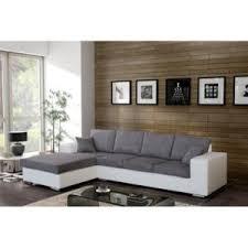canap d angle 5 places pas cher meublesline canapé d angle 5 places harmonia gris et blanc gris