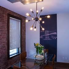 dark room lighting fixtures bedroom breathtaking sputnik light fixture for sparkling home